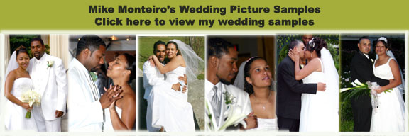 Click on pictures to see my wedding samples....